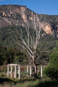 Abandoned Shale Mine, Glen Davis, NSW, Australia