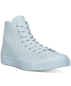 5b5e642371a3 Converse Women s Chuck Taylor Hi Pastel Leather Casual Sneakers from Finish  Line Shoes - Finish Line Athletic Sneakers - Macy s