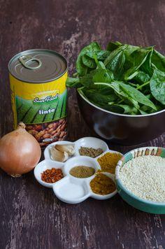 Chiftelute cu linte si spanac - Din secretele bucătăriei chinezești Tahini, Salads