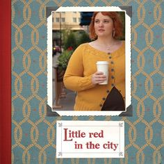 Little Red in the City, by Ysolda Teague.   Part pattern collection, part resource book Ysolda shares all of her tips  for successful sweaters that perfectly fit your body.