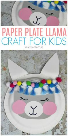 573 Best Paper Plate Arts And Crafts For Kids Images In 2019