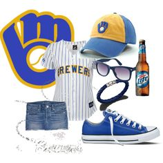 Milwaukee Brewers game day outfit