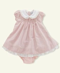 Ralph Lauren Baby Dress 6m - Baptism?  ($1 find at OUAC -- NWT!!!)