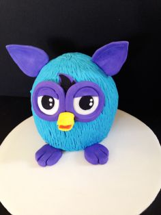 Furby Cake by Phillipa's Cakes. www.flickr.com/photos/phillipascakes