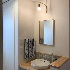 Washbasin Design, Washroom, Powder Room, Toilet, Sweet Home, House Design, Mirror, Interior, Furniture