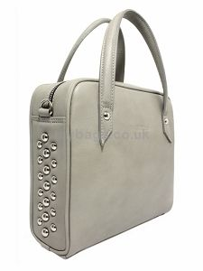 GOSHICO leather bag with metal studs  http://www.mybags.co.uk/goshico-leather-bag-with-metal-studs-1328.html