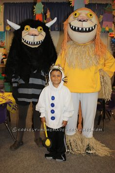 Where The Wild Things Are Homemade Family Halloween Costume… Coolest Halloween Costume Contest