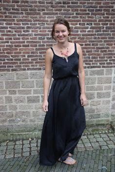 Reves Mecanique: Silk Saltspring maxi dress, I love you!