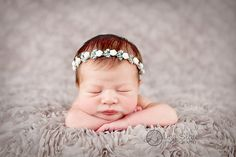 NEW Amazing rhinestone roses Baby headband by sprinklesforsprouts