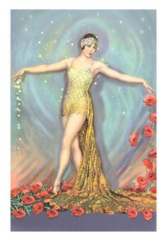 Art Deco imagery is filled with images of gods and goddesses...we don't want to forget