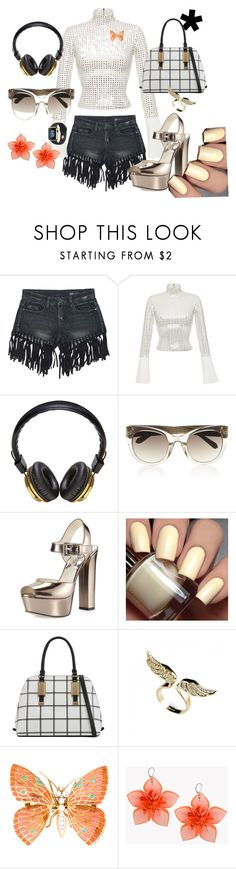 """Night"" by auroracdiaz ❤ liked on Polyvore featuring Sans Souci, David Koma, Bloc & Roc, Linda Farrow, MICHAEL Michael Kors, ALDO and Dsquared2"