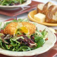 Thumbnail image for Salad Lyonnaise with Crispy Poached Egg