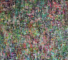 'Honesty' 200 x 180 cm Scraped technique Mixed Media on Canvas