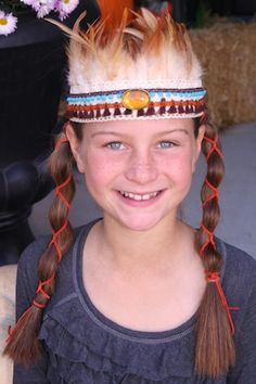 Show Me Cute: Native American Princess Headband