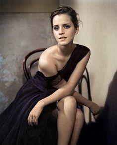 Glamour UK, October 2012 (+) photographer: Vincent Peters Emma Watson