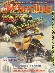 1986 Suzuki 250 Quadracer Rocket Quad 4-Wheeler