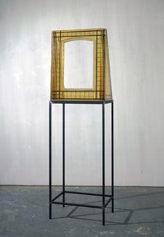 Isa Genzken - Fenster 1994 (epoxy resin and steel)