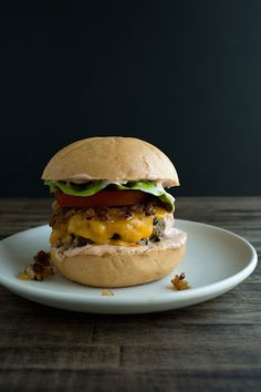 All American Cheeseburger | Chez Us