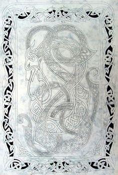 Celtic dog 2 by knotty-inks.deviantart.com