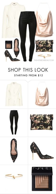 """""""My Sweet Valentine"""" by dnicoleg ❤ liked on Polyvore featuring Alexander McQueen, Alexandre Vauthier, J Brand, Givenchy, Kurt Geiger, BP. and NARS Cosmetics"""