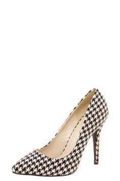 Houndstooth Heels. For when your outfit needs a little extra kick. (You see what I did there?)