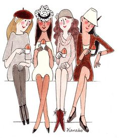 Tea Time with Me, Susan, Cindy and Gail.......