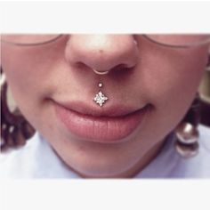 Double Medusa piercing