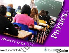 Advance Level - 2015/2016 A/L Physics @ Kegalle | Tuitionlanka.lk