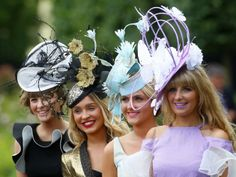 Royal Ascot 2014 style (© Rex Features)