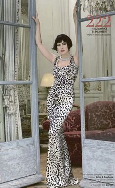Dolce & Gabbana leopard dress...Taylor would love and look awesome in this.