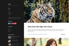 Zero Elegant Blog WordPress Theme