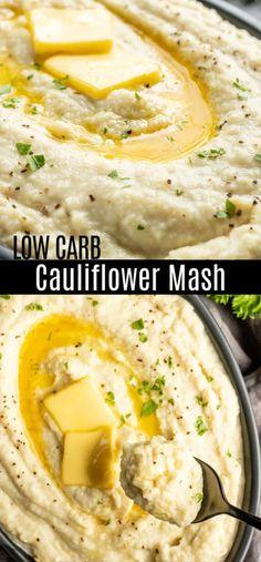 The BEST Cauliflower Mash {Keto}