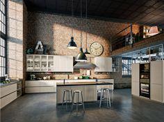 Risultati immagini per cucine stile industriale ikea