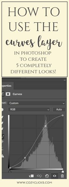 Easy way to learn to use the curves adjustment layer in Photoshop to give your photos a new look when editing! Photoshop tips to learn to use curves. Great tutorial for new photographers plus freebies! Photoshop For Photographers, Photoshop Photos, Photoshop Photography, Digital Photography, Photography Tips, Photoshop Actions, Adobe Photoshop, Photography Lighting, Photoshop Ideas