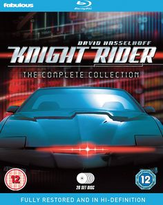 Knight Rider - The Complete Collection Blu-ray Reino Unido Sci Fi Shows, Tv Shows, Lyle Waggoner, Time Travel Series, Amazon Dvd, Classic Sci Fi, Sci Fi Series, British Comedy, Dvd Blu Ray