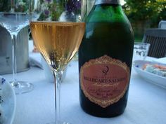 billecart-salmon rose champagne... same we had at our engagement dinner - would love for a wedding toast!