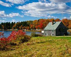 Maine during autumn