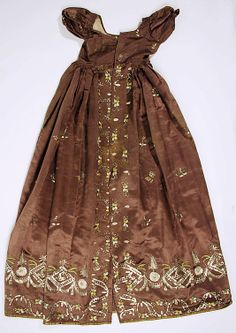 Silk Dress, British ca. 1810