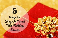 #spon 5 Ways to Stay On TrackThis Holiday Season with www.fitbit.com #findyourfit #fitbit