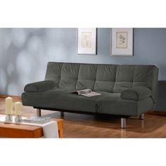 Unique Convertible Euro Sleek Futon Sofa Sleeper Bed And Lounger