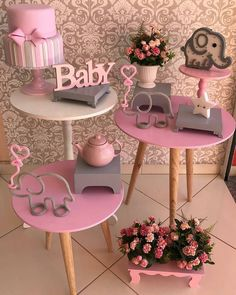 Inspiração linda para #chadebebe Regrann from @anabiafest - Chá de bebê ... #aquivoceencontra #anabiafest #alugueparafestas #elefantinho #chadebebe#minetable - #regrann Baby Shower Cakes, Baby Shower Parties, Baby Shower Themes, Shower Ideas, Elephant Party, Elephant Baby Showers, Little Box, Party Decoration, Baby Shower Printables