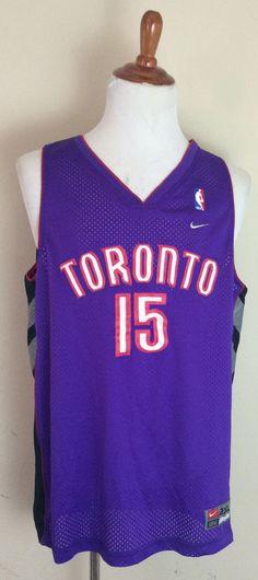 Vince Carter Nike Swingman Toronto Raptors Jersey size 2XL XXL Purple  Stitched  Nike  TorontoRaptors b03cad0c2
