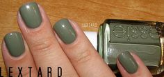 Essie Sew Psyched. Love this color for fall.