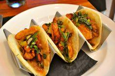 Pollo Tacos from Dos Caminos in New York City #food #NYC www.bon-app.com