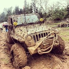 Get a little mud on the tires(;