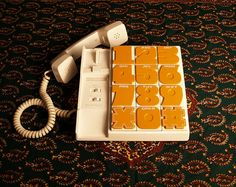 VINTAGE RADIO SHACK /// 1980s Modern Vintage Telephone /// Hello... Land Line Calling /// Retro Eighties by acesfinds, via Flickr