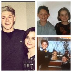 Awe! Niall with an old childhood friend! So cute!!