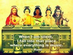 Everything is music. Rumi Love