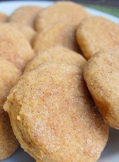 Pumpkin Snickerdoodles- yum!! I need to make these