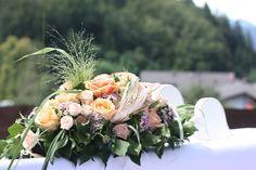 Altargesteck - Peach & Pastell, Pfirsich, Rosa und Pastell, Sommerhochzeit…